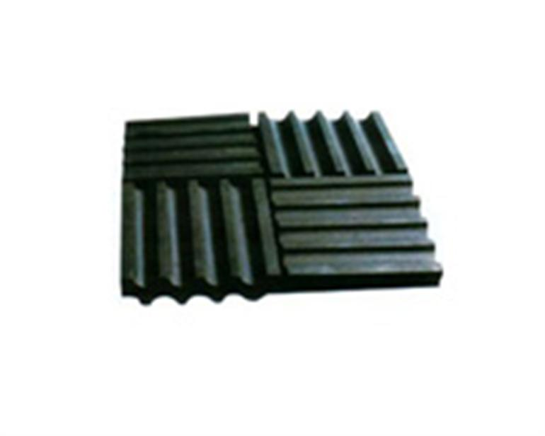 XGD rubber isolation pads cut